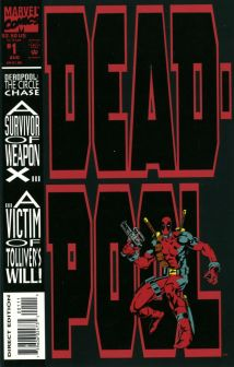 Deadpool The circle chase #1 InvestComics