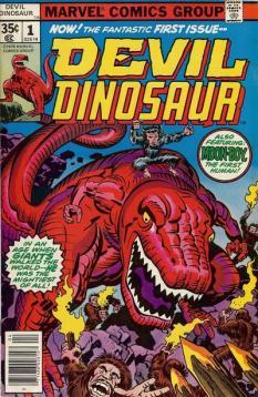 Devil Dinosaur #1 InvestComics