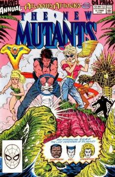 New Mutants Annual #5 InvestComics