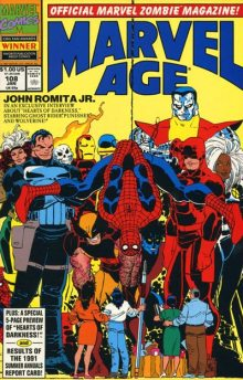 Marvel Age #108 InvestComics