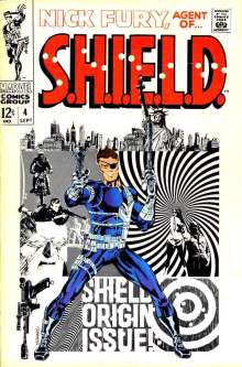 Nick Fury Agent of Shield 4 InvestComics