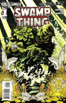 Swamp Thing 1 New 52 InvestComics