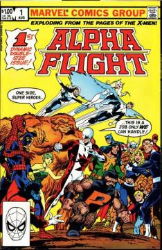 Alpha Flight #1 InvestComics