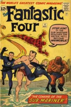 Fantastic Four 4 InvestComics