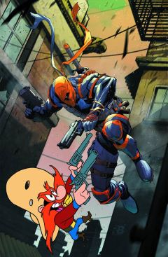 Deathstroke 12 Looney Tunes