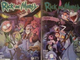 WIN Rick & Morty Exclusive Variants