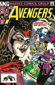 The Avengers #234 1983