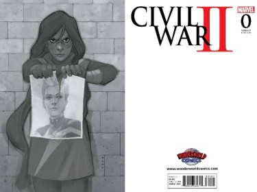 Civil War II #0 WonderWorld