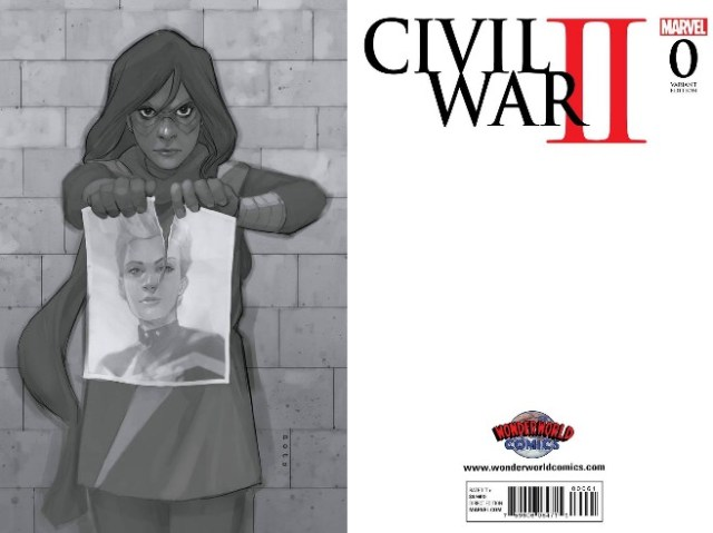Civil War II #0 WonderWorld