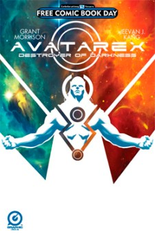 Grant Morrison's Avatarex Destroyer Of Darkness