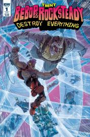 TMNT Bebop & Rocksteady Destroy Everything #1