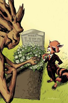 Rocket Raccoon and Groot #7