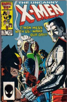 Uncanny X-Men #210