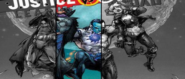 JLA vs Suicide Squad DC