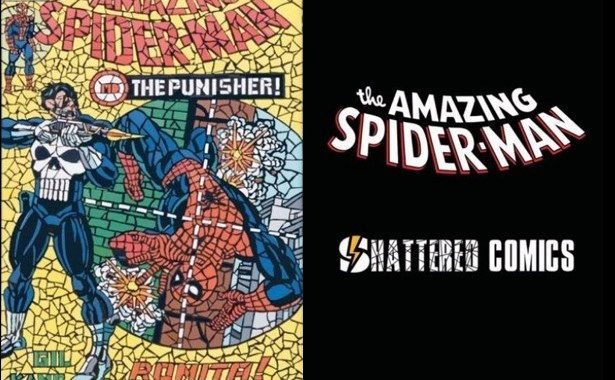WIN Tile Mosaic Spider-Man #789 Variant