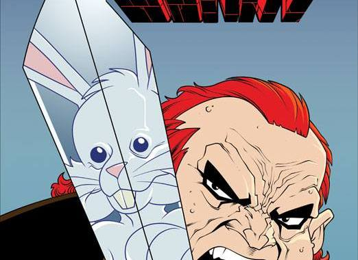 WIN Stabbity Bunny #3 Remarked & Signed