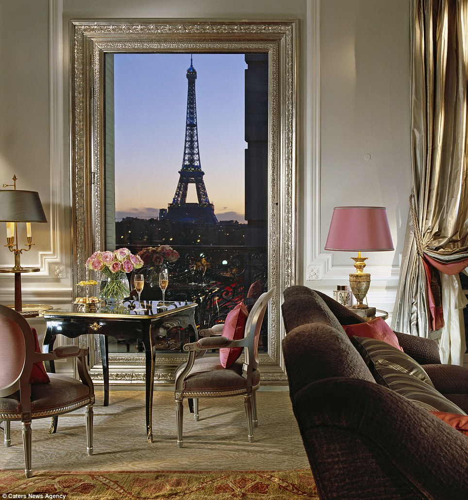 2. The Eifel Suits at the Plaza Athenee, Paris