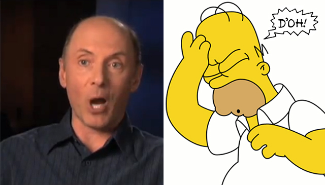 "Dan Castellaneta explained the origin of ""D'oh"""