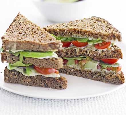 Green Club Sandwich