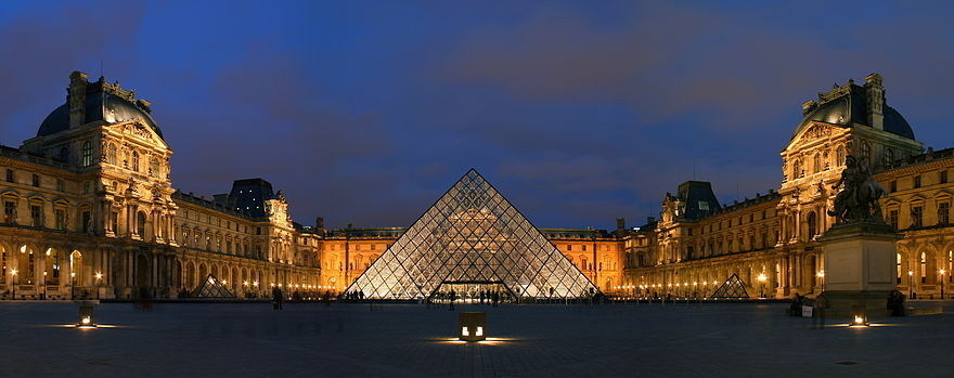 Le Louvre, Paris, France