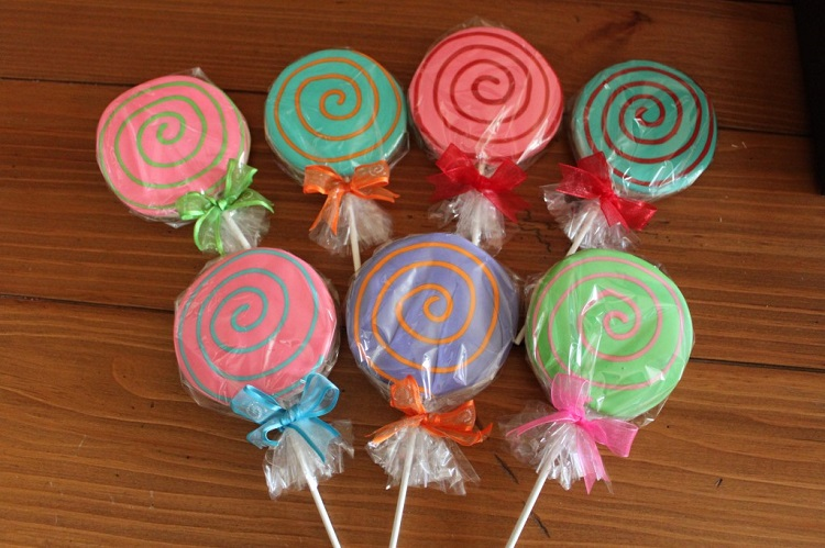 Lollypop Sugar Cookies