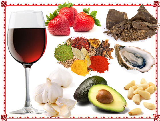 What is aphrodisiac foods