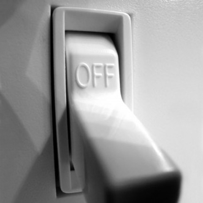 Turn of your lights and heating/cooling when you are not in that room