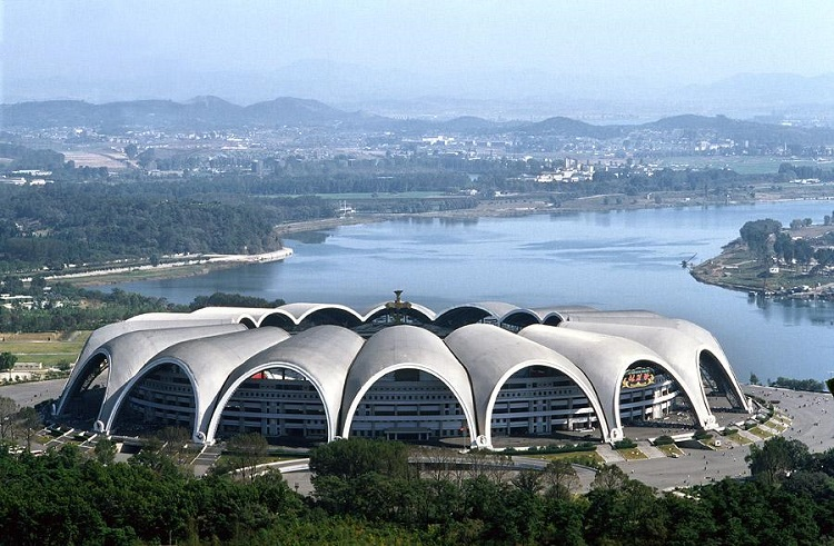 North Korea has the world largest sport stadium