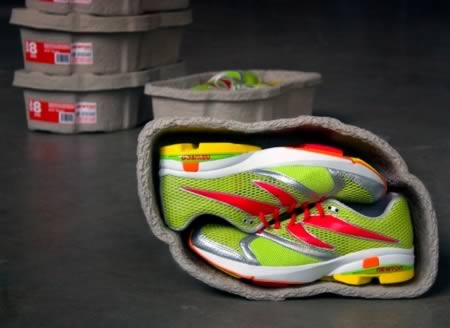 Recycled shoe box