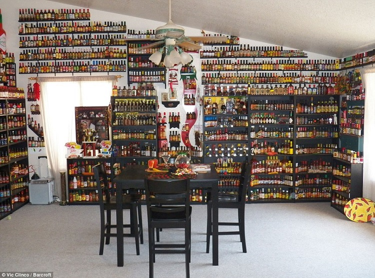 World's Largest Hot Sauce Collection