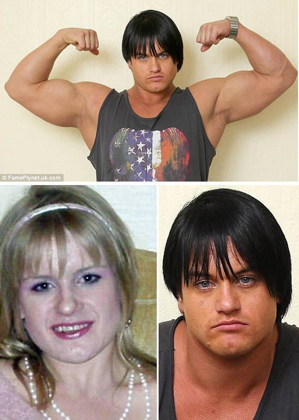 The woman that claimed that using steroids changed her gender