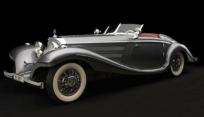 1929 Mercedes-Benz 38/250 SSK ($7.44 million)