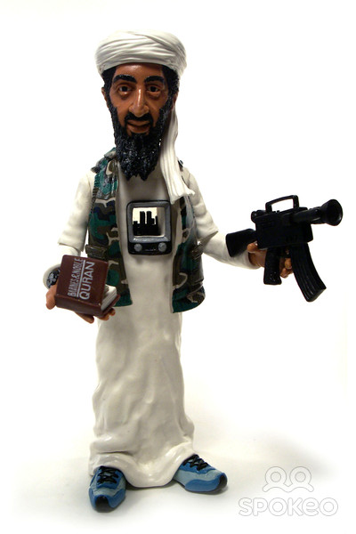 Bin Laden figurines
