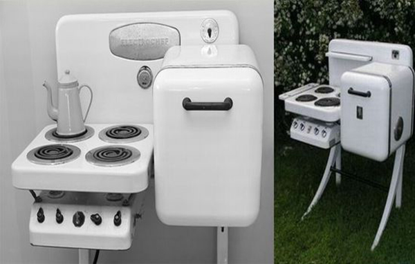 Electro Chef Comes Out with the Ultimate Stove/Refrigerator Combo