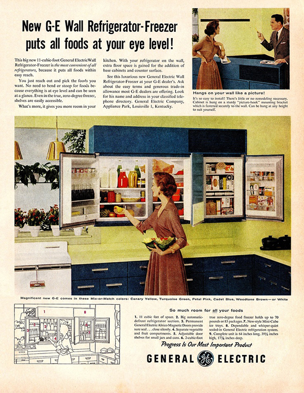 General Electric Built in  Cabinet  Refrigerator