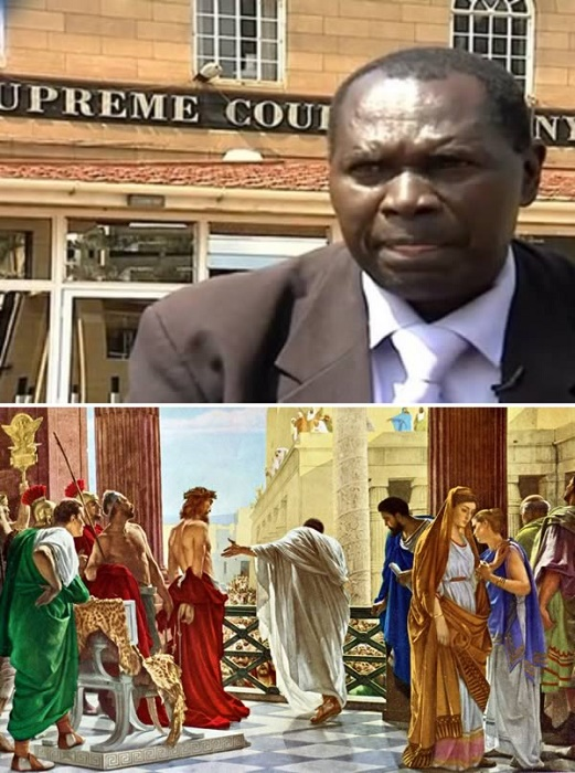 Kenyan Lawyer on a Mission to Overturn the Trial of Jesus