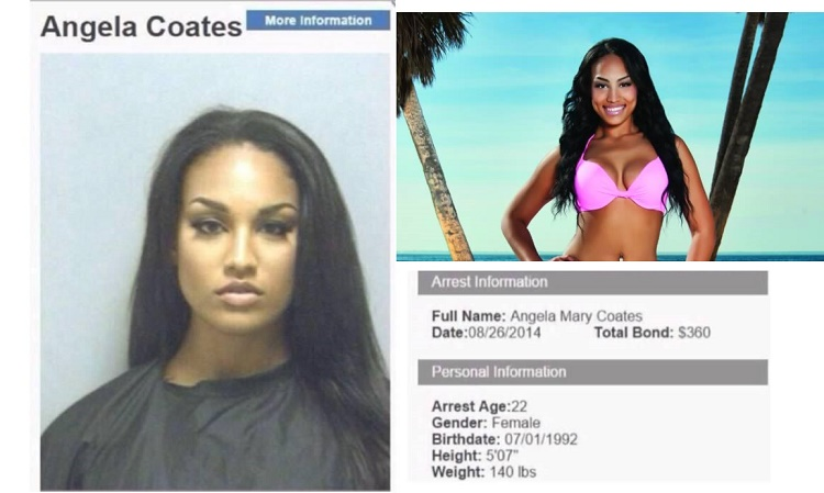 Models Gorgeous Mug shot Gets The Attention of Fellow Tweeters and Offers To Cover her Bail