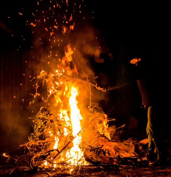 Predict Your Future by Throwing Objects into the Bonfire
