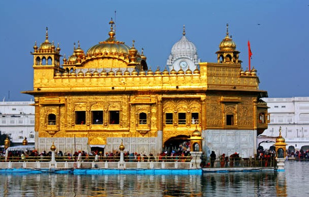 The Golden Temple of Amritsar, India