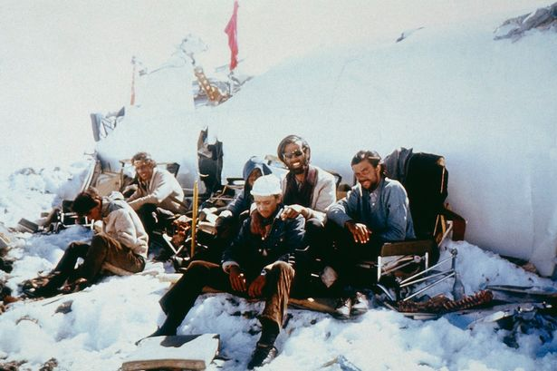 Disaster of Flight 571 in the Andes