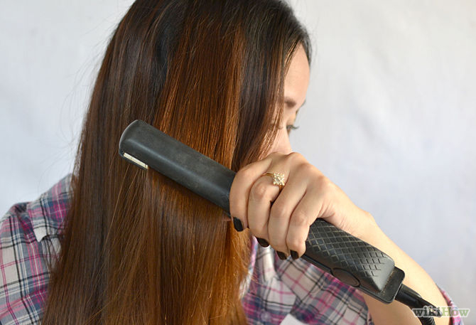 Electric hair straightening and curling tools