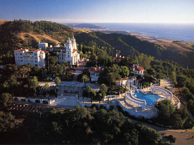 Hearst Castle, Beverly Hills, Los Angeles