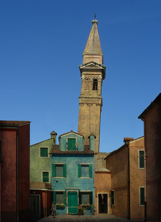 Leaning Tower of Burano, Italy