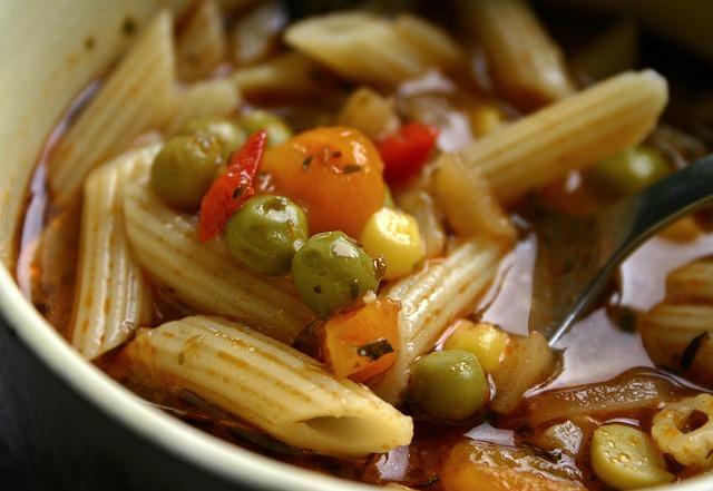 Organic Cooked Vegetable Soup
