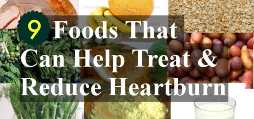 Foods that will instantly get ride of heartburn