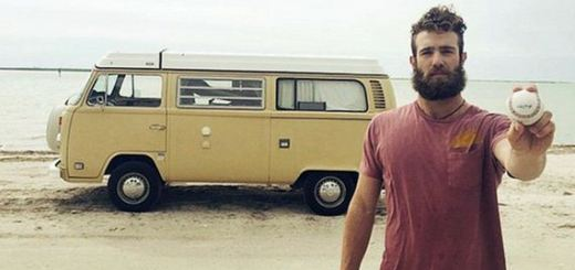 This is the millionaire who lives in a 1978 van