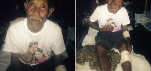 101-year-old man rescued from the Earthquake rubble