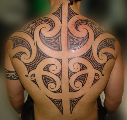 Maori Tattoo Design and Symbols for Men