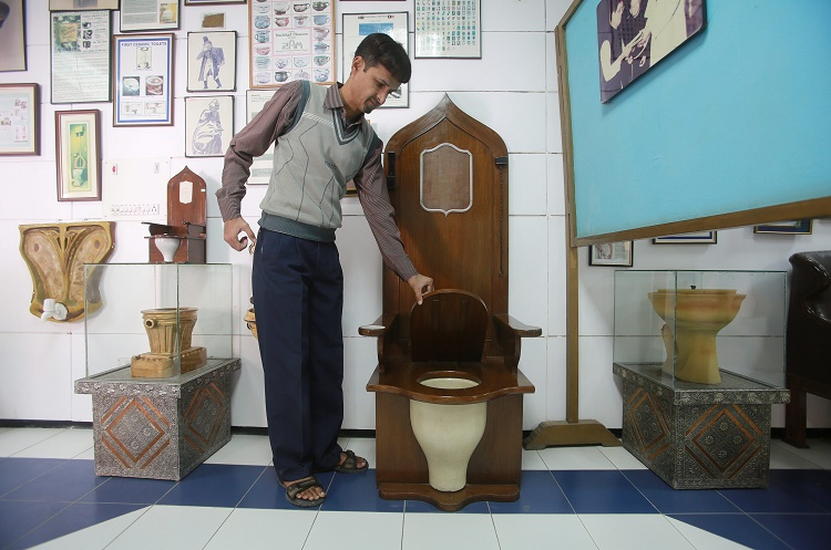 The International Museum of Toilets in New Delhi Sulabh