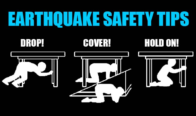 Tips to escape an earthquake